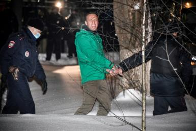 Alexei Navalny's arrest has triggered a wave of condemnation from Western countries calling for his immediate release