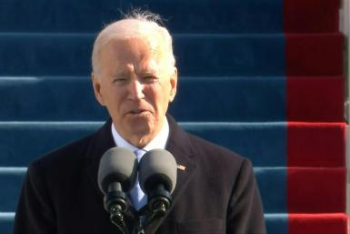 Biden calls for 'unity' in inauguration speech