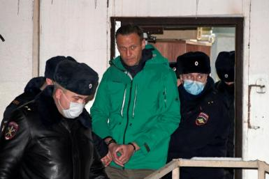 Alexei Navalny could face jail time after his arrest on arrival from Germany, where he was recovering from a poisoning attack