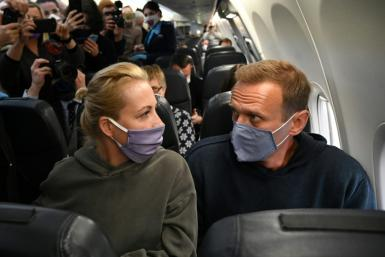Alexei Navalny returned to Russia from Germany last week after recovering from being poisoned with the Novichok nerve agent