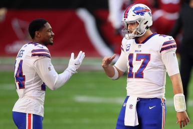 Josh Allen Stefon Diggs Buffalo Bills