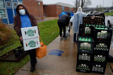The United States has seen a sharp rise in hunger since the Covid-19 pandemic began, causing mass layoffs that left families struggling to pay the bills