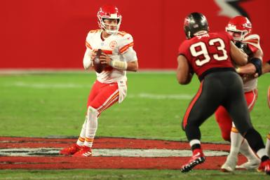 Patrick Mahomes Chiefs Buccaneers