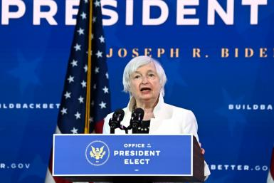 Janet Yellen will be the first woman to lead the US Treasury and will face the daunting tasks of shepherding a $1.9 trillion economic rescue package through Congress