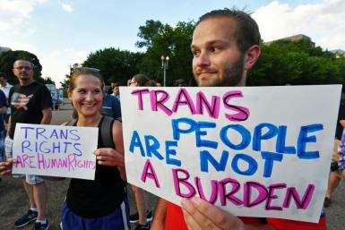 US President Joe has overturned his predecessor Donald Trump's ban on transgender personnel serving in the US military
