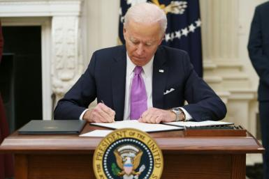 With many of his cabinet members awaiting confirmation, US President Joe Biden has pushed through numerous executive orders in his first days in office, with the latest aimed at domestic manufacturing