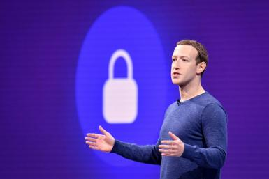 Facebook CEO Mark Zuckerberg, pictured in May 2018, said the platform will stop recommending politics-themed groups