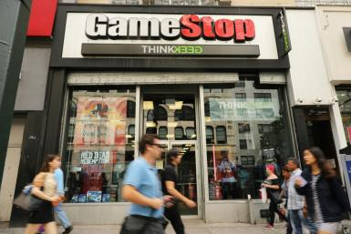 The struggling video game retail chain GameStop has been targeted by short-sellers but a counter-movement by a group of amateur investors has driven its shares higher