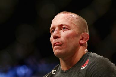 Georges St-Pierre of Canada