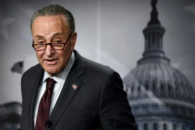 US Senate Majority Leader Chuck Schumer said Congress cannot 'dilute, dither or delay' President Joe Biden's massive economic rescue plan