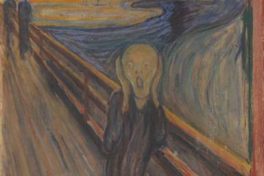 """Evard Munch vandalized """"The Scream"""" with his own hand"""