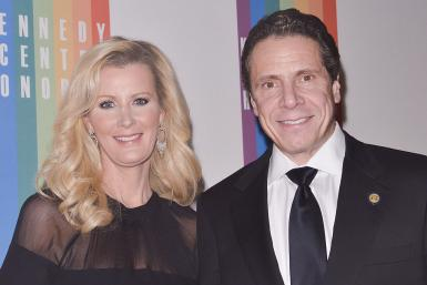 Kerry Kennedy and Andrew Cuomo