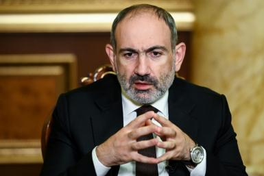 Pashinyan has been under pressure since he signed a peace deal brokered by Russia that ended the conflict over Karabakh