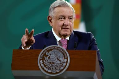 """Mexican President Andres Manuel Lopez Obrador's office said he would talk with his US counterpart Joe Biden about their countries' """"shared vision and objectives"""""""