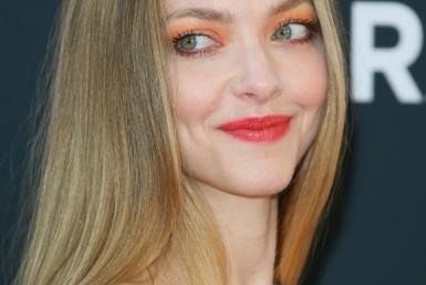 """US actress Amanda Seyfried -- a Globe nominee for her work in Netflix film """"Mank"""" -- says she will be at home for the gala"""
