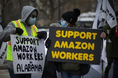 There have been a series of protests around the United States on safety and working conditions at Amazon, with the pandemic increasing pressure on its distribution network even as profits soar