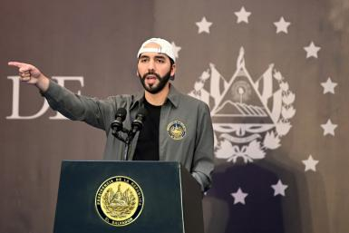 El Salvador's President Nayib Bukele uses social media to his advantage and has cultivated an image as a man of the people