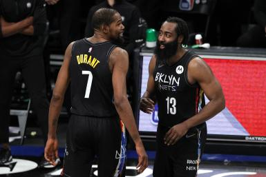 Kevin Durant James Harden Brooklyn Nets