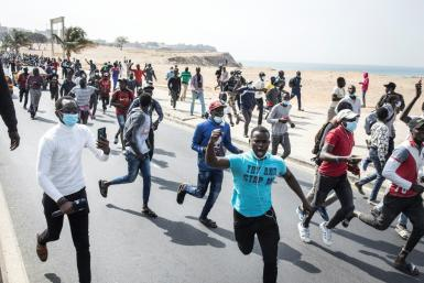 Supporters of Senegal's opposition leader Ousmane Sonko protested this week after he was arrested