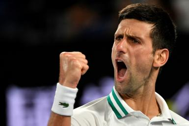 On top of the world: Novak Djokovic