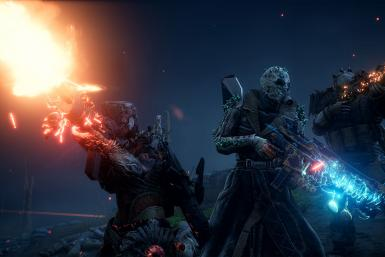 Outriders will allow squads of up to three players playing together in co-op missions and activities
