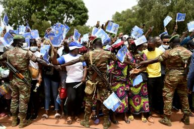 Supporters of President Patrice Talon reject accusations the election will be fixed