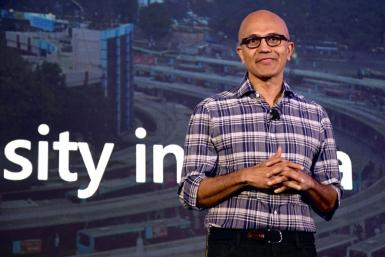 Microsoft Corporation Chief Executive Officer Satya Nadella said the Nuance acquisition positions the tech giant for growth in the healthcare sector