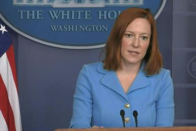 "SOUNDBITEThe United States is ""increasingly"" worried by Russia's troop build-up on the Ukrainian border and about fighting between Moscow-backed separatists and Ukrainian troops, White House Press Secretary Jen Psaki tells reporters. Russian troop presenc"