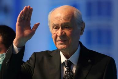 Balding, diminutive and craggy-voiced, 73-year-old Devlet Bahceli is the leader of Turkey's Nationalist Movement Party