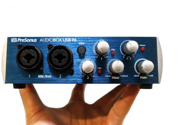 Hands-on with the PreSonus AudioBox USB 96