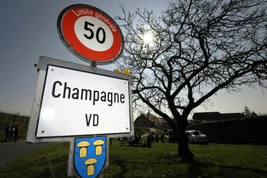 The Swiss village of Champagne has been fighting for years to use its name on its products
