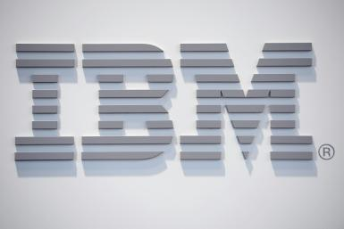 IBM posted a slight increase in turnover after four quarters down