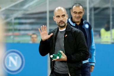 Manchester City manager Pep Guardiola opposed the Super League