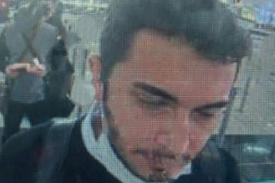 A screen grab made from a CCTV released by Demiroren News Agency on April 22,2021 shows Thodex founder Faruk Fatih Ozer on passport control at Istanbul international airport. Turkish prosecutors on April 22, 2021, opened an investigation after the Istanbu