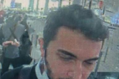A screen grab made from CCTV shows Thodex founder Faruk Fatih Ozer at passport control at Istanbul international airport as he left the country after shutting down his cryptocurrency exchange with a reported $2 billion in assets