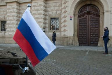 Czech Foreign Minister Jakub Kulhanek said Russia will have until the end of May to cut staff employee numbers