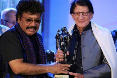 Tributes poured in Friday for popular Bollywood music composer Shravan Rathod (L), who died in a Mumbai hospital aged 66