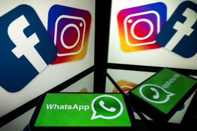 "Facebook's ""family"" of apps include Instagram and WhatsApp, as well as Messenger"