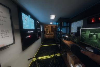 Phasmophobia's truck allows players to monitor situations in total safety