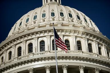 Security has been at top level around the Capitol building since the January 6 riot when former president Donald Trump's supporters rampaged against what the Republican falsely claims was a stolen election