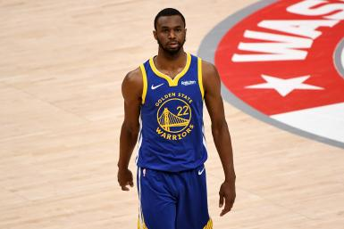 Andrew Wiggins #22 of the Golden State Warriors