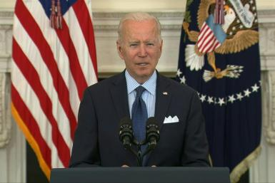 President Joe Biden pledges that the United States will be ready to launch a vaccination campaign for 12- to 15-year-olds as soon as Pfizer's Covid shot is approved for the age group.