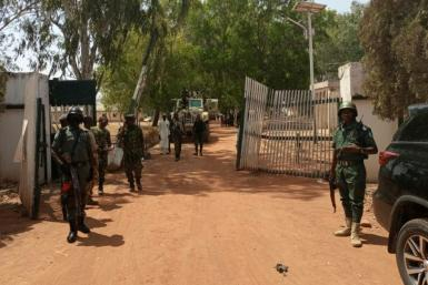 Soldiers battled with gunmen when they took students from the college