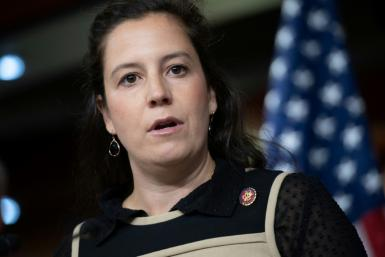 US Representative Elise Stefanik, a New York Republican, has received former president Donald Trump's endorsement to replace congresswoman Liz Cheney as chair of the House Republican conference