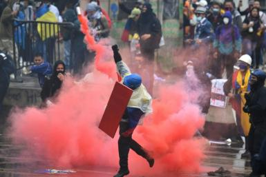 Anti-government protests have rocked Colombia for more than a week
