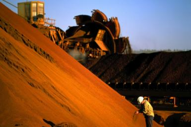 Iron ore prices are sitting at a record high as demand in major economies picks up