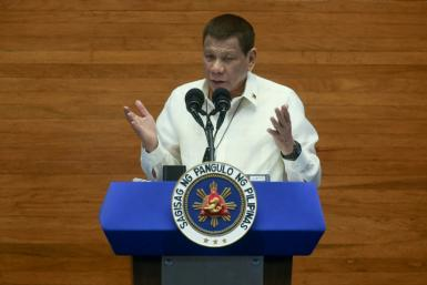 President Rodrigo Duterte said police should get tough on rule breakers and arrest those not wearing a mask properly