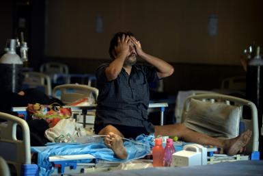 The World Health Organization said the B.1.517 variant spreading in India appears to be more contagious