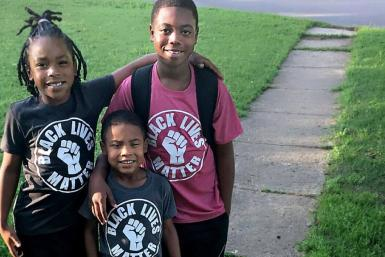 8-year-old student in Oklahoma punished for wearing black lives matter shirt