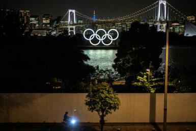 Japan is battling a fourth virus wave but organisers have said the postponed Olympics can still go ahead